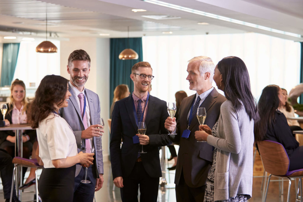 Networking is essential! Here's some tips.